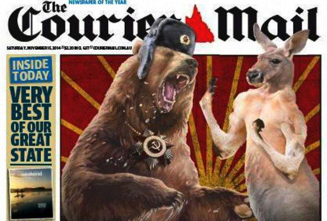 """Австралійські журналісти """"затролили"""" Путіна і зажадали від нього вибачень"""