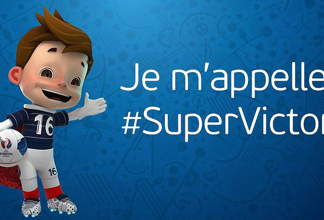 Офіційним талісманом Євро-2016 став «Супер Віктор»