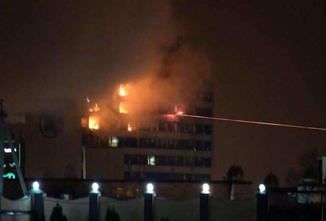 У центрі Грозного стався вибух і триває бій