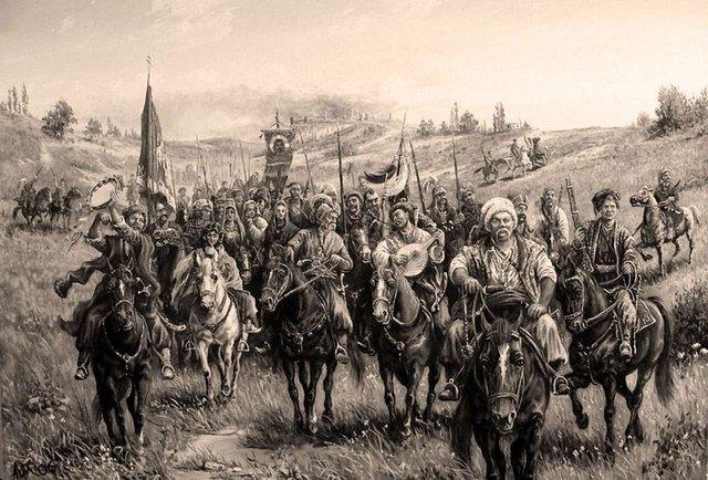 Якби були ми козаками…