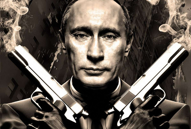 Захід і терорист Путін