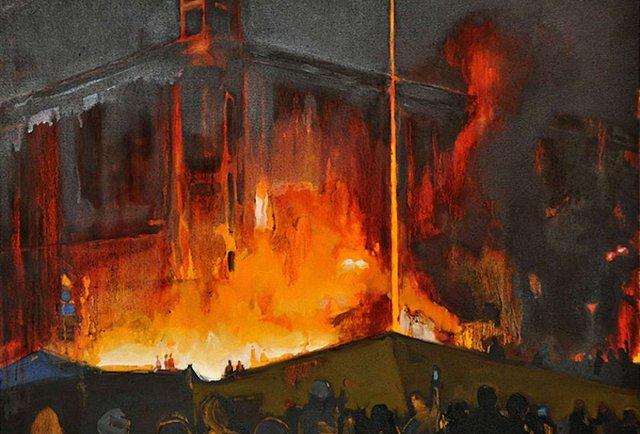 Арт-форум «Пам'ятаю. Зима, що триває» представив виставку сучасного живопису