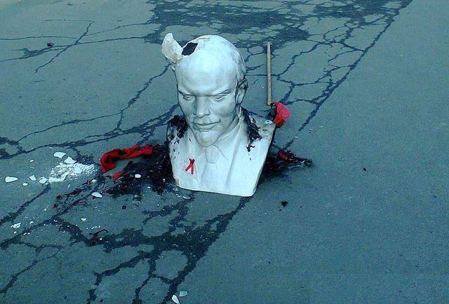 Українці здали комунізм у музей