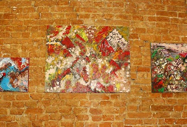 На «Дзизі» відкрита виставка Марії Прошковської