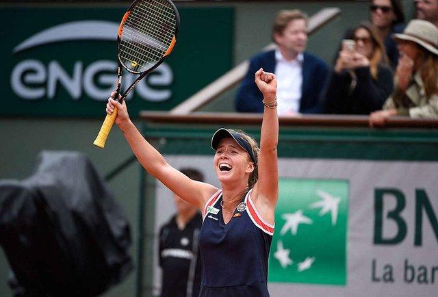 Українська тенісистка Світоліна вийшла у чвертьфінал Roland Garros