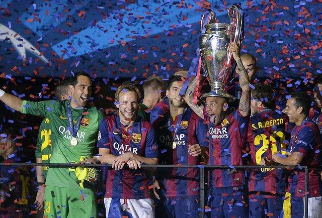 «Барселона» вп'яте здобула кубок Ліги Чемпіонів