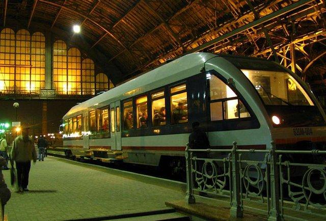 Потяг до Європи