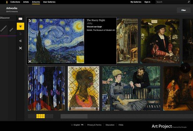 Google відкрив онлайн-доступ до найбільших музеїв світу