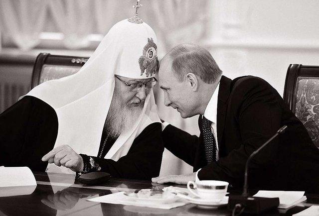 Путіністи в рясах