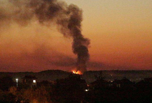 Нова пожежа у Грибовичах. Онлайн