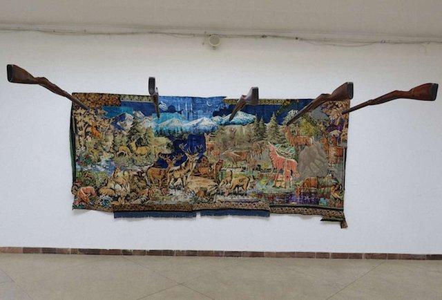 У Львові відкрилась виставка сучасного мистецтва «Килим»