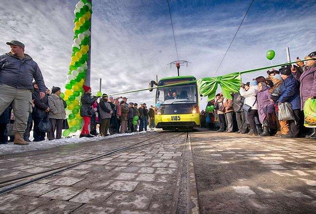50 років трамвая на Сихів