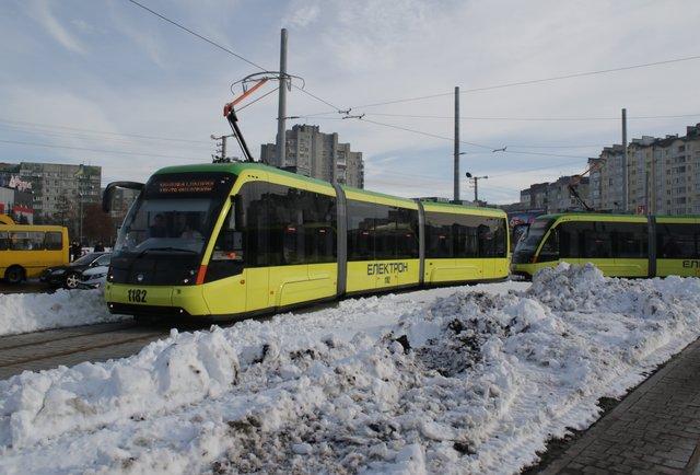 Запуск трамвая на Сихів. Онлайн