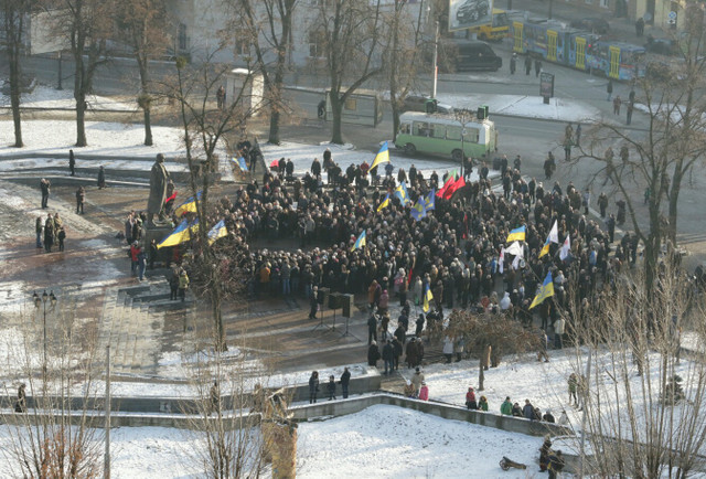 Представники львівської влади вшанували пам'ять Степана Бандери