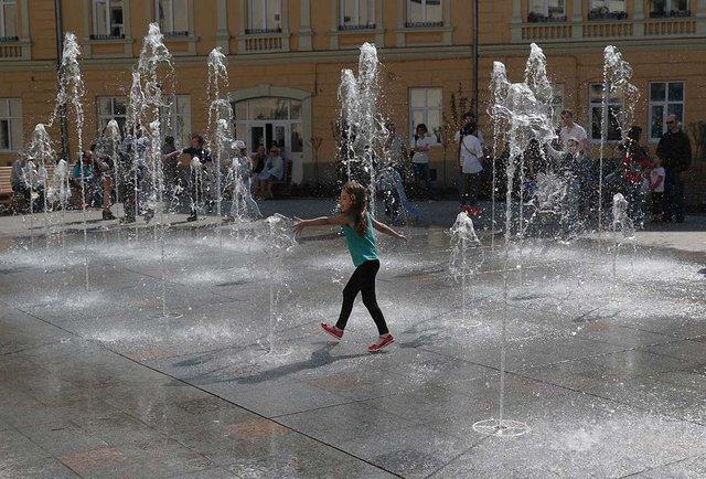 У Львові відкрили оновлену площу Митну