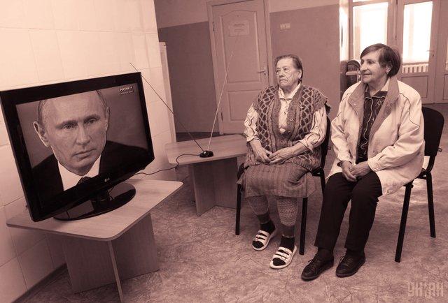 Рекламне шоу за участі Путіна