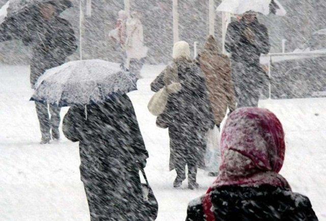 В Україну йде потепління зі снігопадами