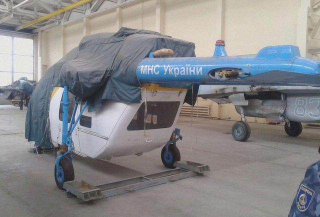 Львівщина відмовилась від єдиного реанімаційного гелікоптера