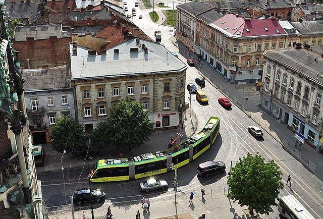 Нова схема львівського електротранспорту