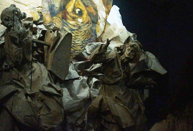 У музеї Пінзеля триває проект Влодка Кауфмана «NIMB біометрія»