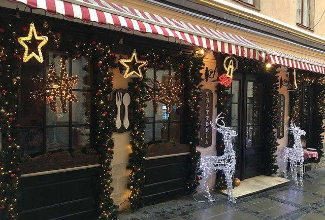 Найкращі різдвяно-новорічні вітрини Львова. Версія мерії