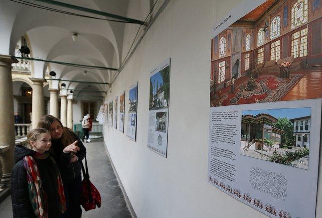 У Львові відкрилась виставка, присвячена ханському палацу у Бахчисараї