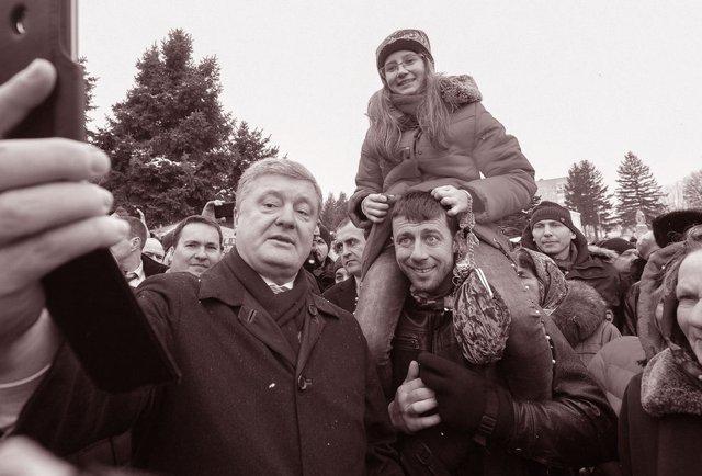 Зеленський, Майдан і Гідність