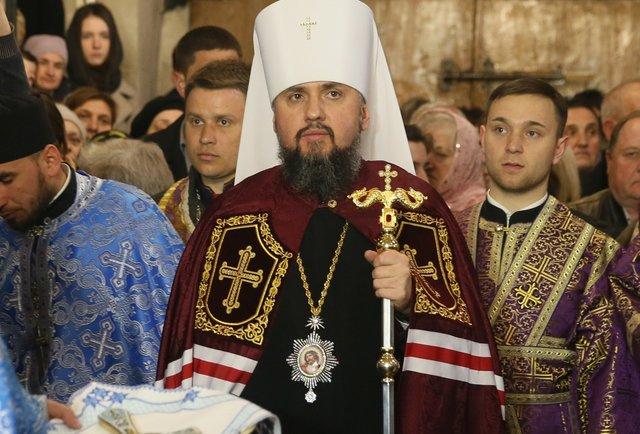 Перший візит глави ПЦУ Епіфанія до Львова