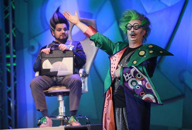 На сцені львівської Опери в одній виставі поєднались дві комедії