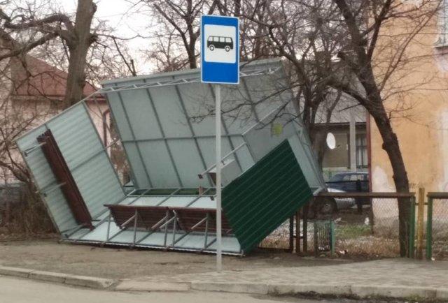 Шторм на Львівщині