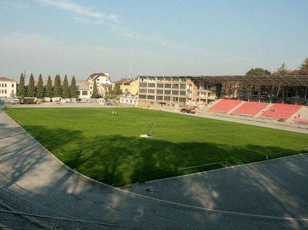 Стадіон «Скіф» у Львові відкриють у листопаді