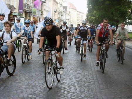 У Львові відзначають Велодень