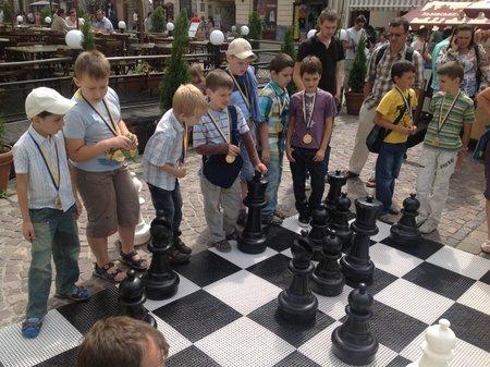 У Львові відсвяткували Міжнародний день шахів