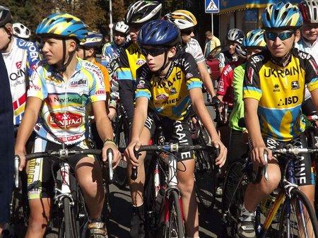 У Тернополі відбулися Всеукраїнські велосипедні перегони