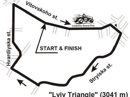"""11 июня 1933 года во Львове на трассе  """"Львовский треугольник """" прошел II Гран При Львова."""