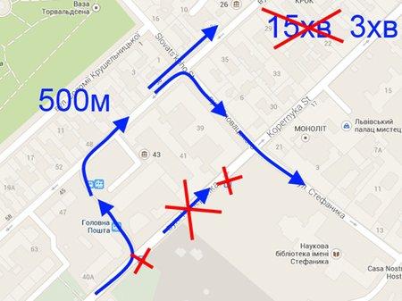 Схема руху громадського