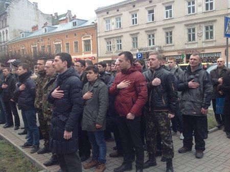Самооборона у Львові прийшла до прокуратури