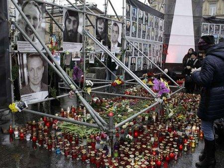 На львівському Майдані вшанували пам'ять загиблих у Києві