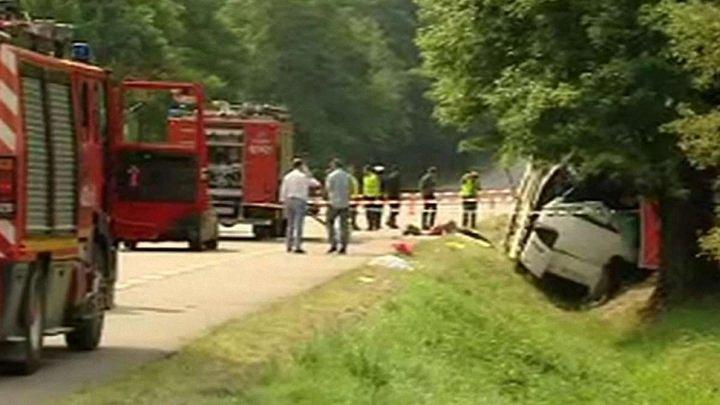 Причиною автокатастрофи українського автобуса у Польщі стала перевтома водія