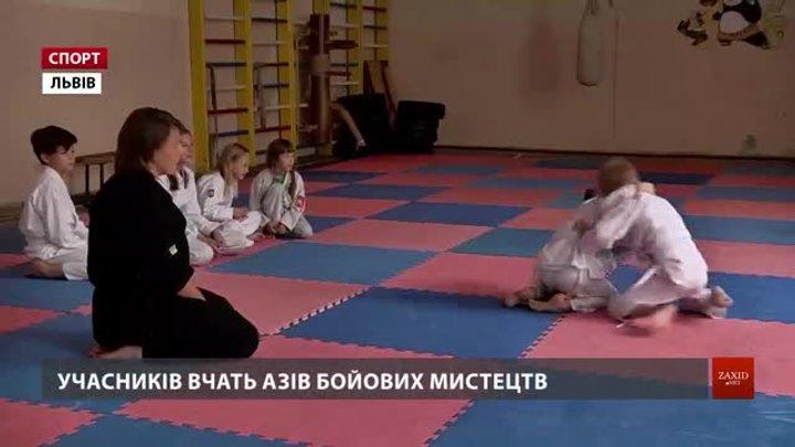 У львівському таборі школярі знайомляться з бойовими мистецтвами і вивчають японську мову