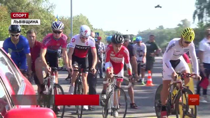 На Львівщині стартував чемпіонат України з велоспорту на шосе