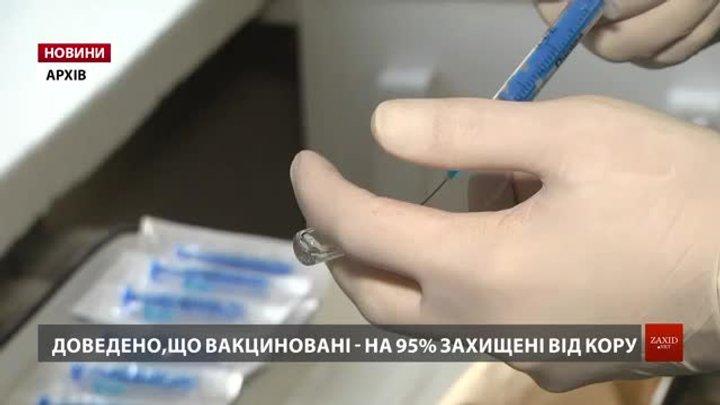 Львівські медики оприлюднили тривожну динаміку збільшення кількості недужих на кір