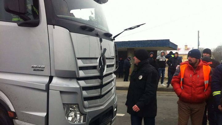На Львівщині стався конфлікт між активістами «Авто Євро Сила» та водієм