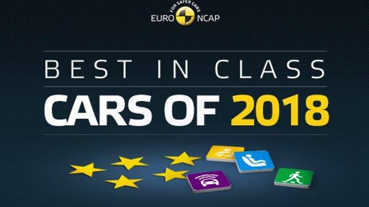 EuroNCAP назвала найбезпечніші автомобілі 2018 року