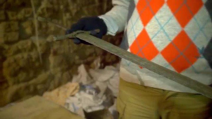 У львівському підземеллі під час ремонтних робіт знайшли середньовічний меч