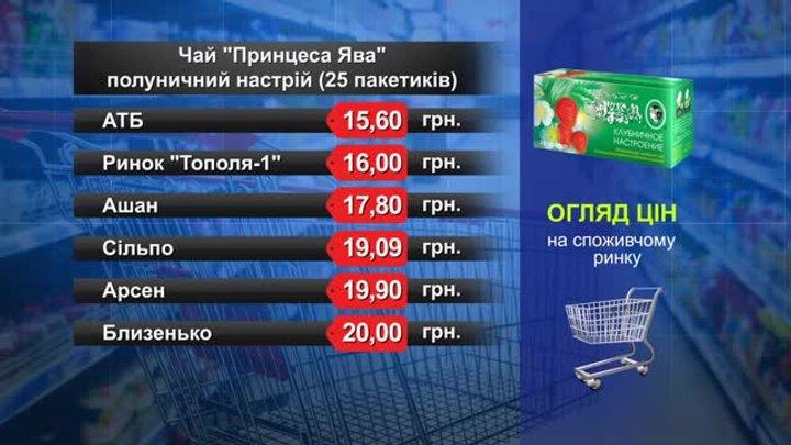 Чай «Принцеса Ява». Огляд цін у львівських супермаркетах за 21 січня