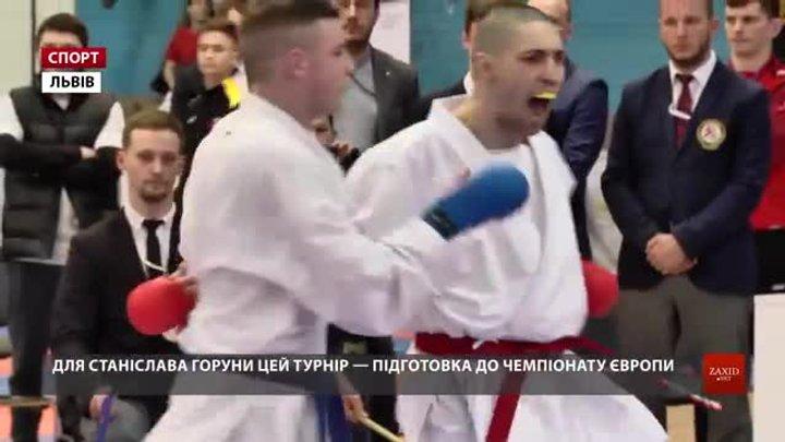Більше тисячі каратистів позмагалися на міжнародному турнірі - відкритому Кубку Львова
