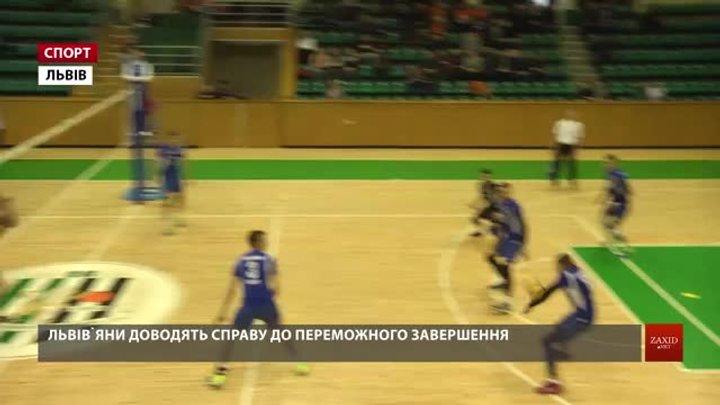 Львівські «Кажани» обіграли «Буревісник ШВСМ» та зіграють у півфіналі волейбольної Суперліги