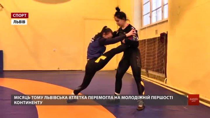 Борчиня Оксана Лівач розповіла про шлях чемпіонки Європи від кадетів до дорослих