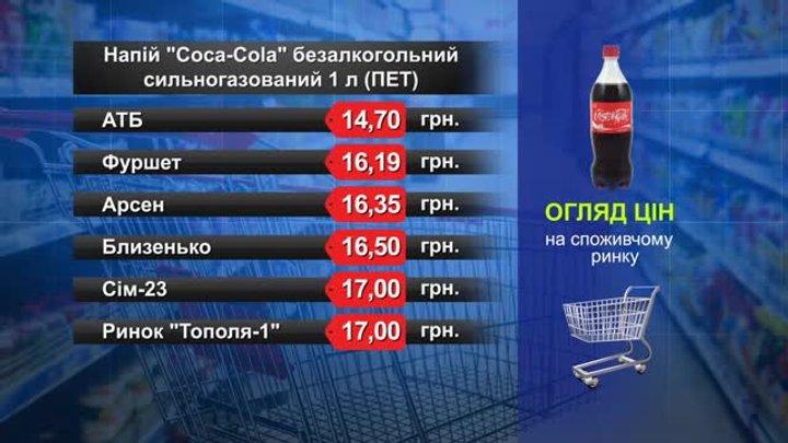Coca-Cola. Огляд цін у львівських супермаркетах за 23 квітня
